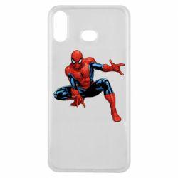 Чехол для Samsung A6s Hero Spiderman
