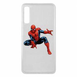 Чехол для Samsung A7 2018 Hero Spiderman