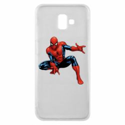 Чехол для Samsung J6 Plus 2018 Hero Spiderman