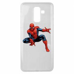 Чехол для Samsung J8 2018 Hero Spiderman