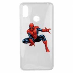 Чехол для Xiaomi Mi Max 3 Hero Spiderman