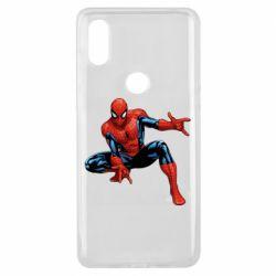 Чехол для Xiaomi Mi Mix 3 Hero Spiderman