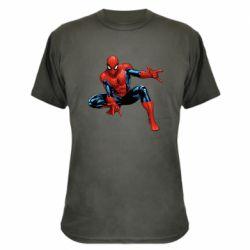 Камуфляжная футболка Hero Spiderman