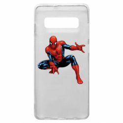 Чехол для Samsung S10+ Hero Spiderman