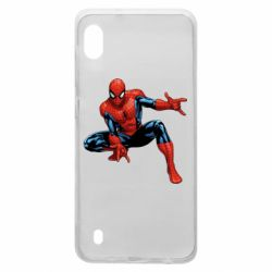 Чехол для Samsung A10 Hero Spiderman