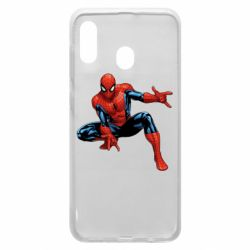 Чехол для Samsung A30 Hero Spiderman