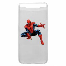 Чехол для Samsung A80 Hero Spiderman