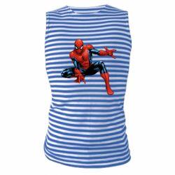 Майка-тельняшка Hero Spiderman