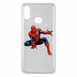 Чехол для Samsung A10s Hero Spiderman