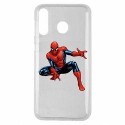 Чехол для Samsung M30 Hero Spiderman