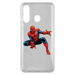 Чехол для Samsung M40 Hero Spiderman