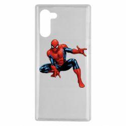 Чехол для Samsung Note 10 Hero Spiderman