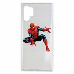 Чехол для Samsung Note 10 Plus Hero Spiderman