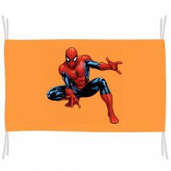 Флаг Hero Spiderman