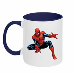 Кружка двоколірна 320ml Hero Spiderman
