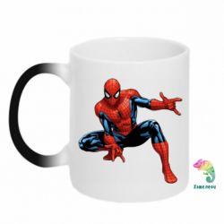 Кружка-хамелеон Hero Spiderman