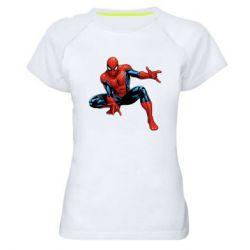 Женская спортивная футболка Hero Spiderman