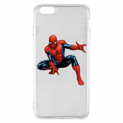 Чехол для iPhone 6 Plus/6S Plus Hero Spiderman