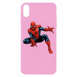 Чехол для iPhone X/Xs Hero Spiderman
