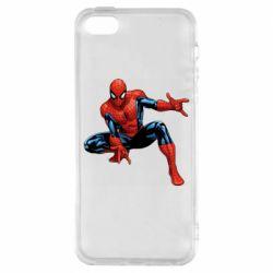 Чохол для iphone 5/5S/SE Hero Spiderman