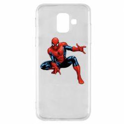 Чехол для Samsung A6 2018 Hero Spiderman