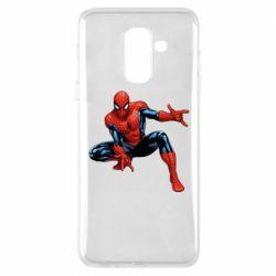 Чехол для Samsung A6+ 2018 Hero Spiderman