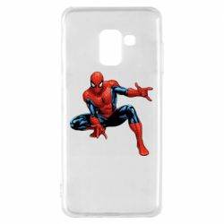 Чехол для Samsung A8 2018 Hero Spiderman