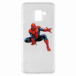 Чохол для Samsung A8+ 2018 Hero Spiderman