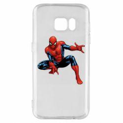 Чехол для Samsung S7 Hero Spiderman