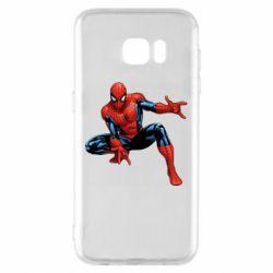 Чохол для Samsung S7 EDGE Hero Spiderman
