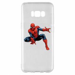 Чехол для Samsung S8+ Hero Spiderman