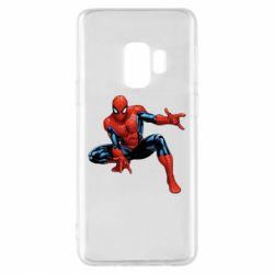 Чехол для Samsung S9 Hero Spiderman