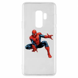 Чехол для Samsung S9+ Hero Spiderman