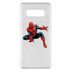 Чехол для Samsung Note 8 Hero Spiderman