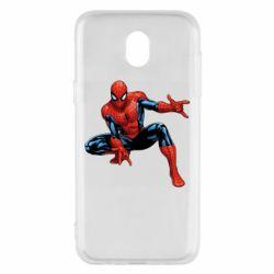 Чехол для Samsung J5 2017 Hero Spiderman