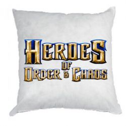 Подушка Heroes of Order & Chaos - FatLine