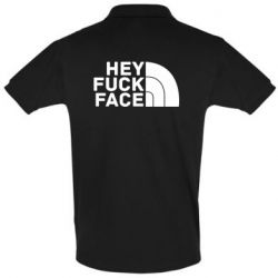 Футболка Поло Hey fuck face