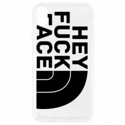 Чохол для iPhone XR Hey fuck face