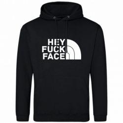 Чоловіча толстовка Hey fuck face