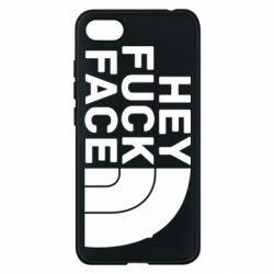 Чехол для Xiaomi Redmi 6A Hey fuck face