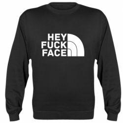 Реглан (світшот) Hey fuck face
