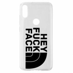 Чохол для Xiaomi Mi Play Hey fuck face