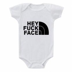 Дитячий бодік Hey fuck face