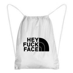 Рюкзак-мішок Hey fuck face
