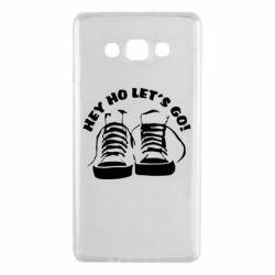 Чохол для Samsung A7 2015 Hey ho let's go