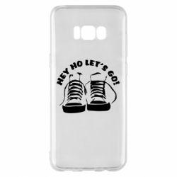 Чохол для Samsung S8+ Hey ho let's go