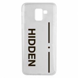 Чохол для Samsung J6 Hidden