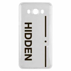 Чохол для Samsung J7 2016 Hidden