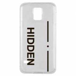 Чохол для Samsung S5 Hidden