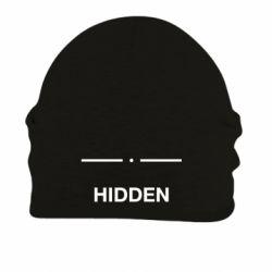 Шапка на флісі Hidden